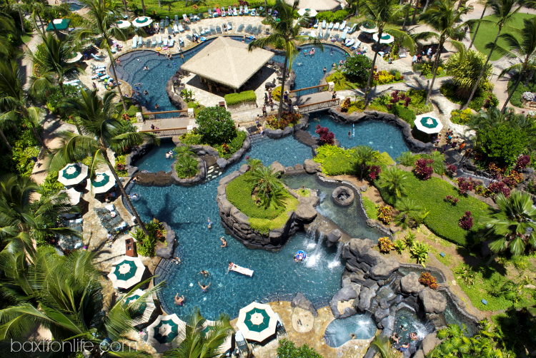 marriott vacation club ko olina family pool