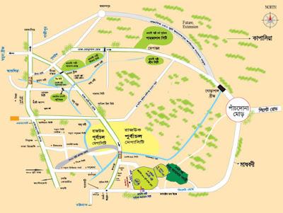 Sylhet Map
