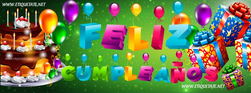 Fotos de Portada para Facebook- Feliz Cumpleaños | Etiquetate.