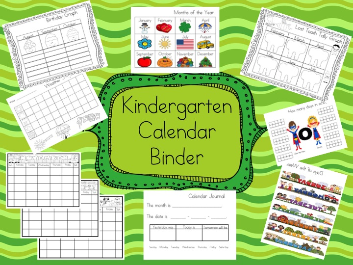 Kindergarten Calendar Time Routine : Curls and a smile it s celebration mega giveaway