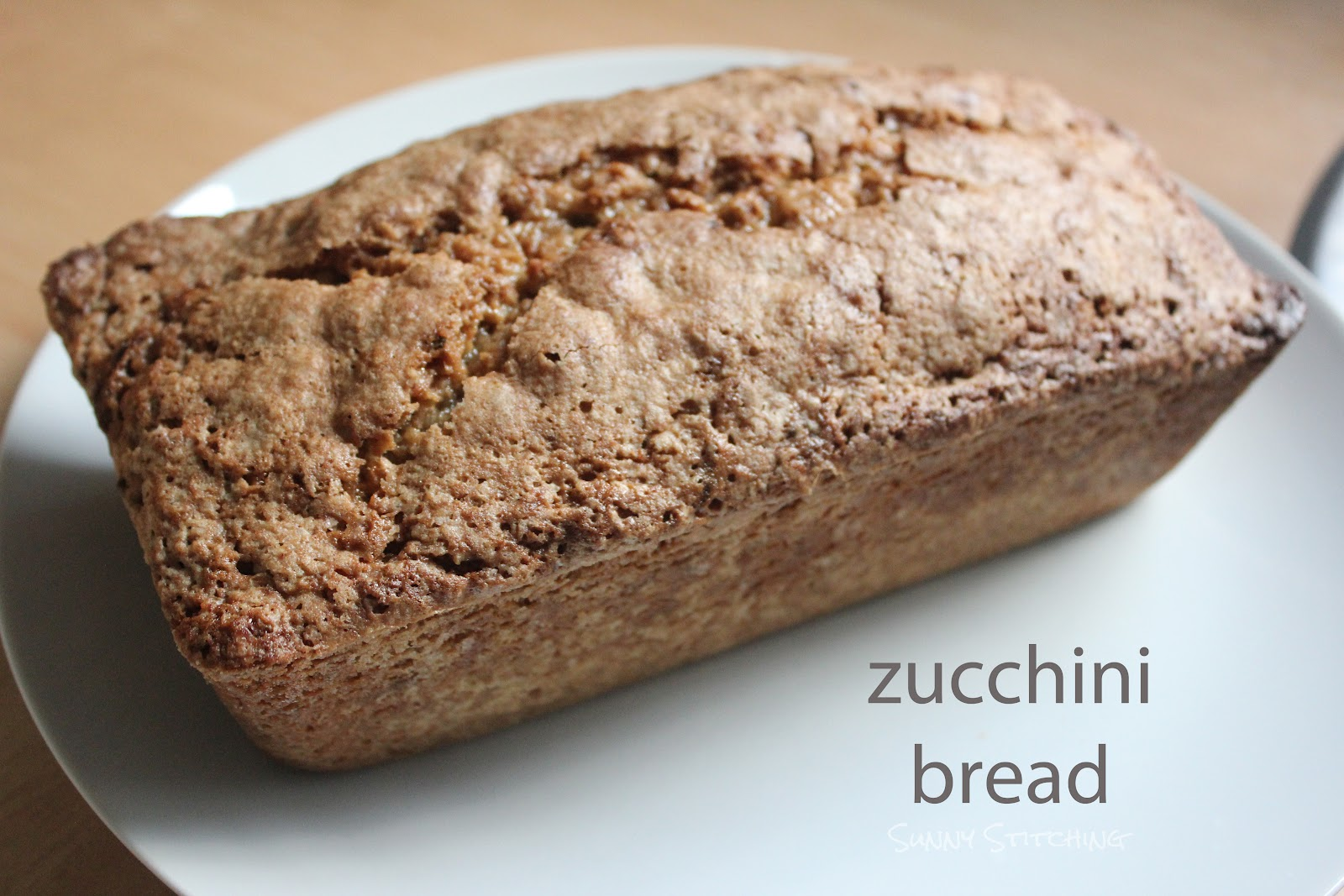 ... zucchini bread...or should I say pain de courgettes? Either way, it's