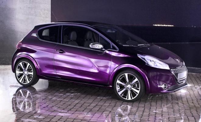 2012 Peugeot 208 XY Concept