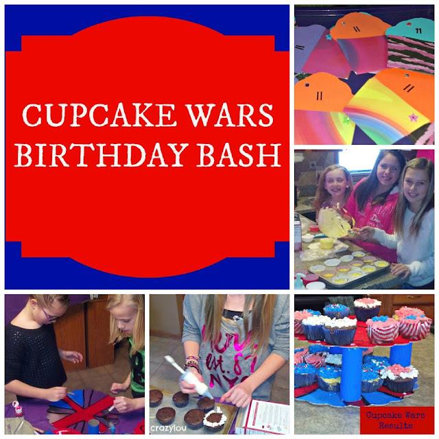 cupcake wars birthday bash
