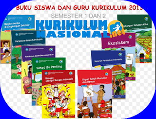 Buku Guru Dan Siswa Kurikulum 2013 Baru Untuk Kelas 3 SD/MI
