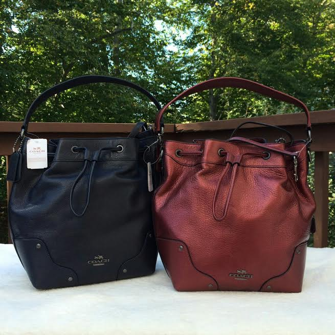 s a p p h i r e m i n i s t o r e: Coach Mickie Grain Leather ...