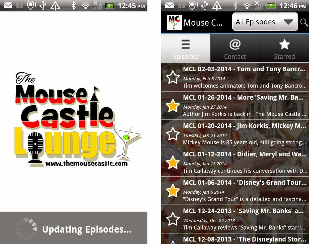 The Mouse Castle Lounge for Android