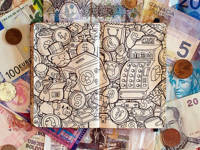 20-Maykel-Nunes-Graphic-Designer-Illustrator-Moleskiner-Sketchbook-Doodles-www-designstack-co