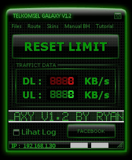 Inject Telkomsel Galaxy V1.2 14 Oktober 2015