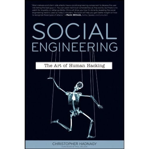 social engineering the art of human hacking free pdf  download hackhacker mohd salim ansari