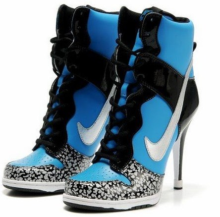 High Heel Nike Dunks?! Seen On www.coolpicturegallery.us