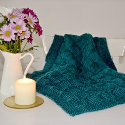 Manta de lana para bebé