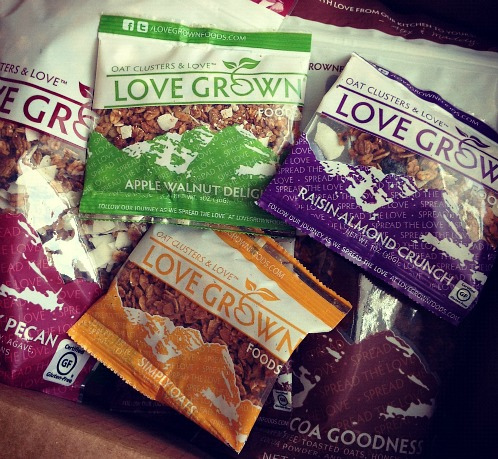 Love Grown Gluten Free Granola