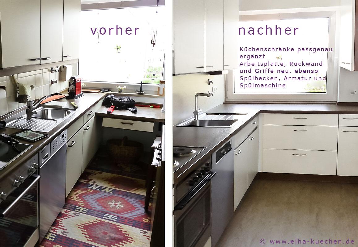 Küchenrenovierung Vorher Nachher ~ wir renovieren ihre küche  küchenrenovierung – vorher – nachher