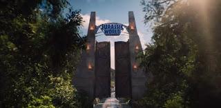 Jurasscic World gates