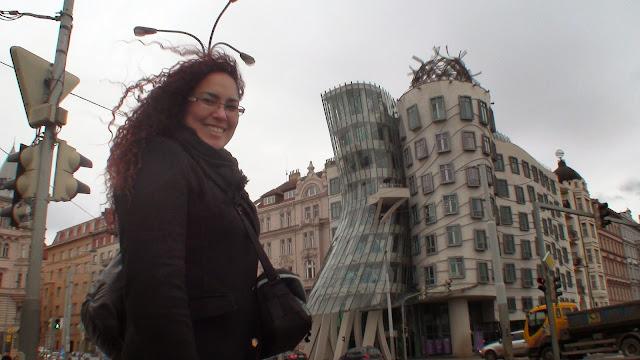Casa danzante Praga, Liseth Fattorello, arquitectura praguense