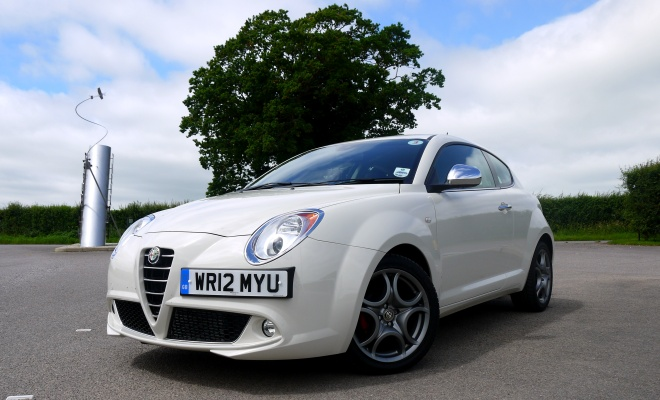 Alfa Romeo Mito TwinAir from the front