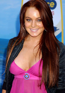 Female Celebrity Portraits] Actress: Lindsay Lohan
