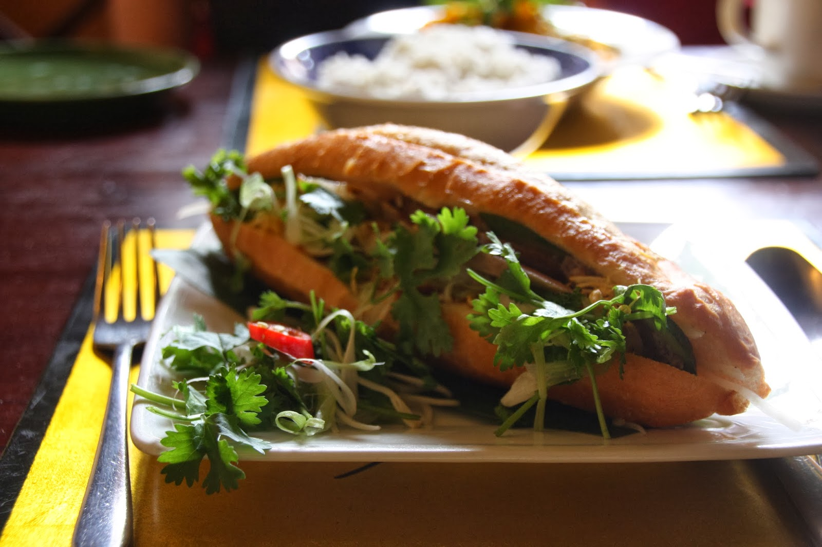 Bahn Mi at Morning Glory Restaurant Hoi An