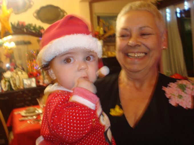 Marta me volvió a dar el título de abuela