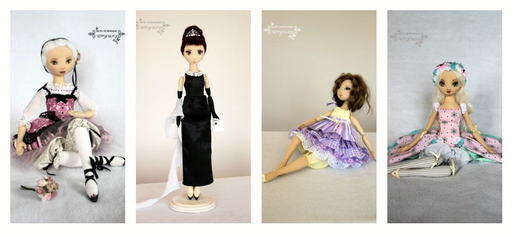 Пошив кукол из ткани