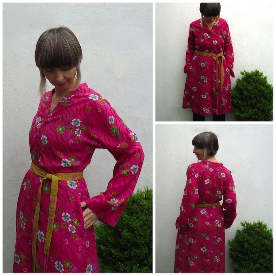 Sakura kimono dress: Gudrun Sjödén Spring 2015