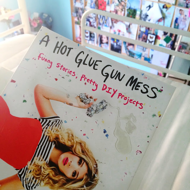 a hot glue gun mess book review, mr. kate book review