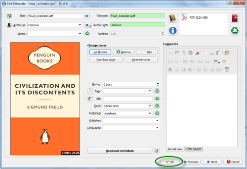 change epub to pdf