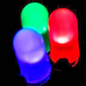 Dancing LED lights on keyboard using Notepad_FunWidTricks.Com