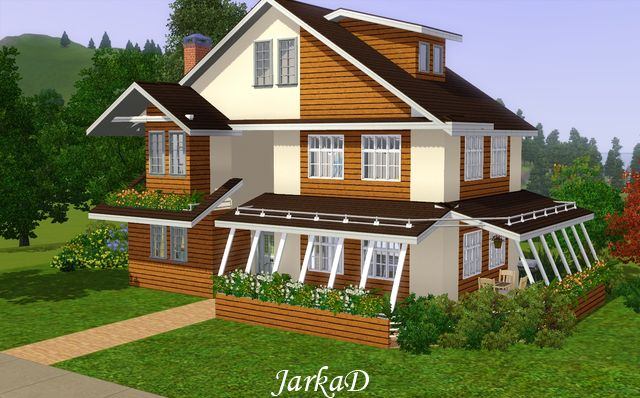 My sims 3 blog new family home by jarkad for Sims 3 family home ideas
