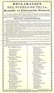 guerra con estados unidos declaracion de independencia de mexico