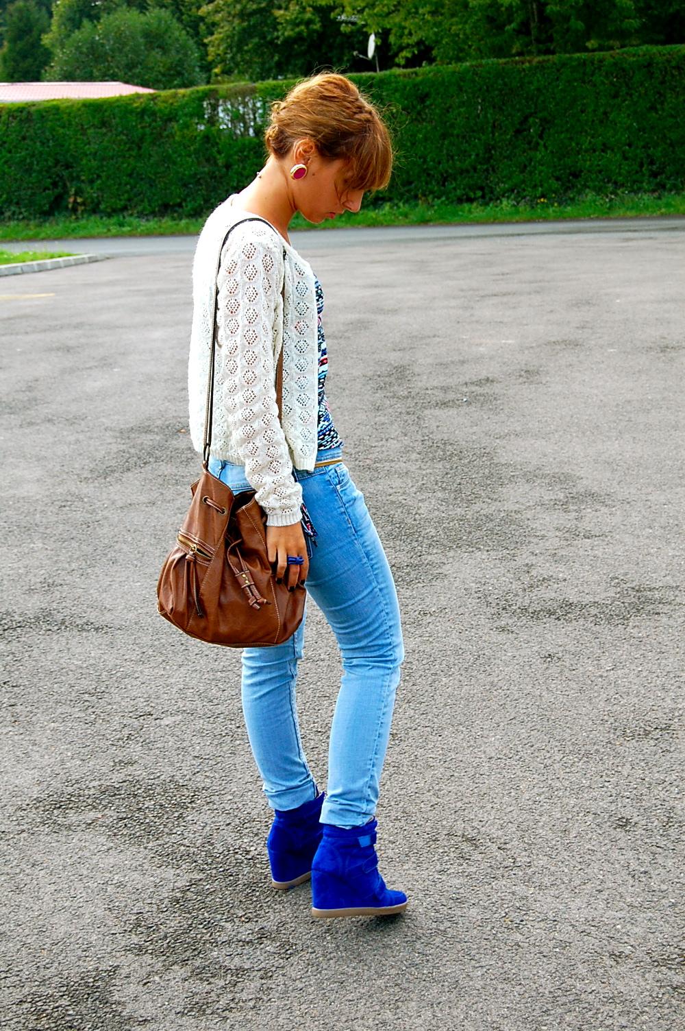 idée look jeans