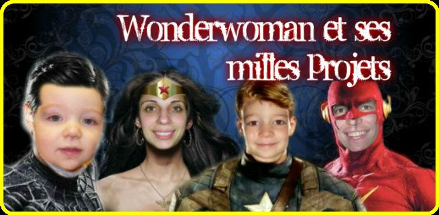 Wonderwoman aux milles projets