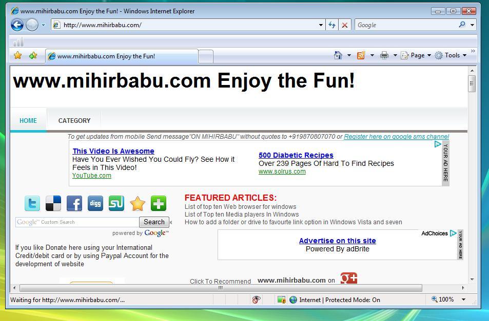 Internet Explorer - Download
