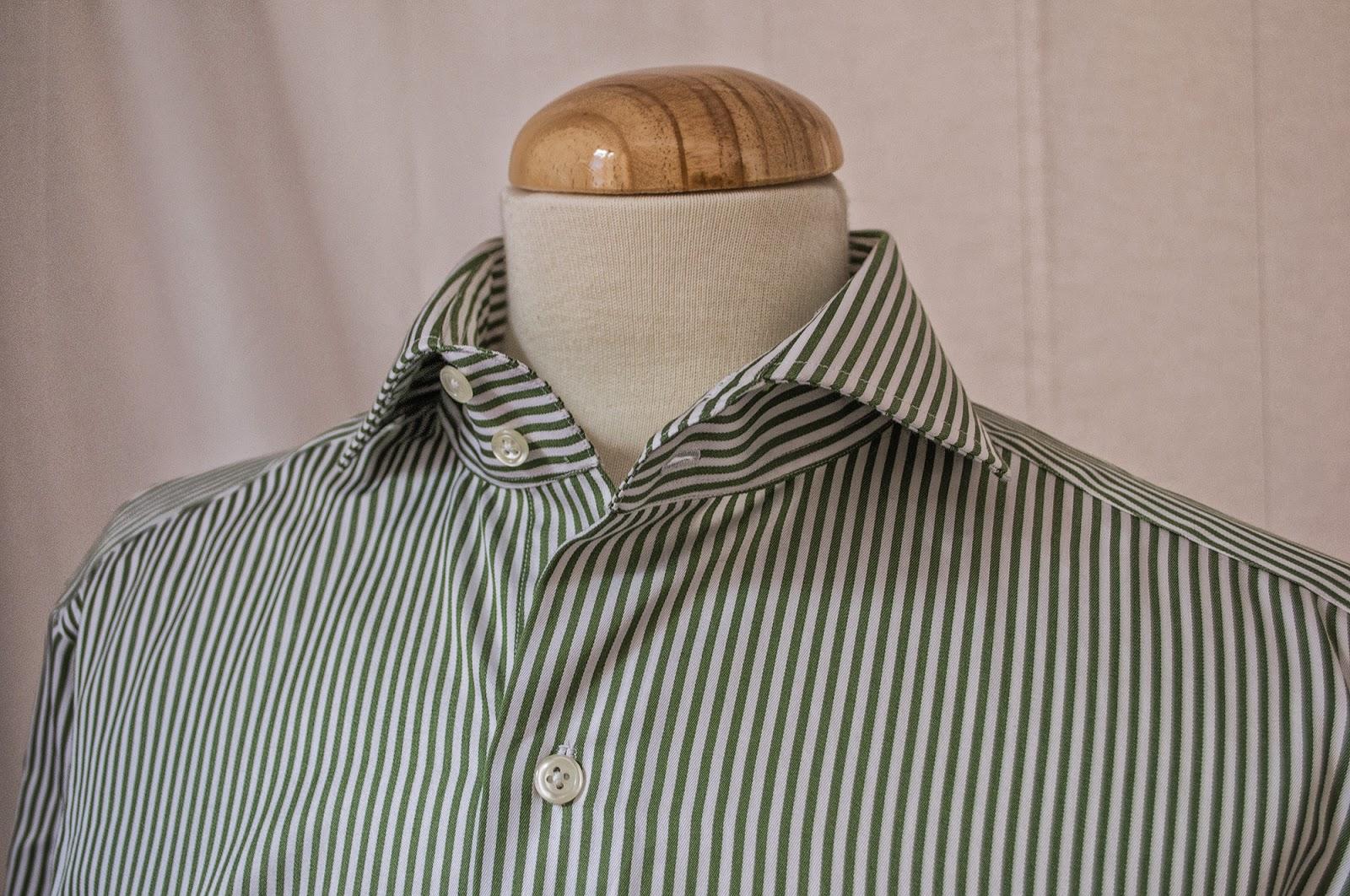 Proceso de Camisa a medida en Sastrería Langa. (Capítulo II)