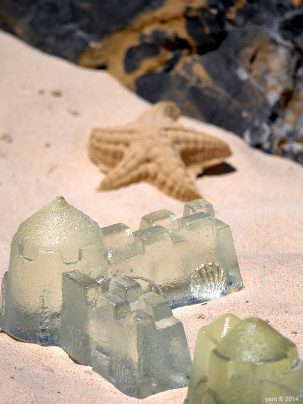 glass sandcastles
