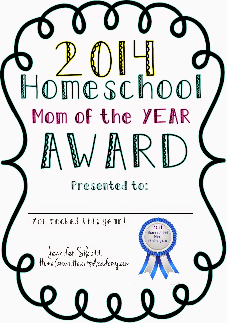 homeschool award