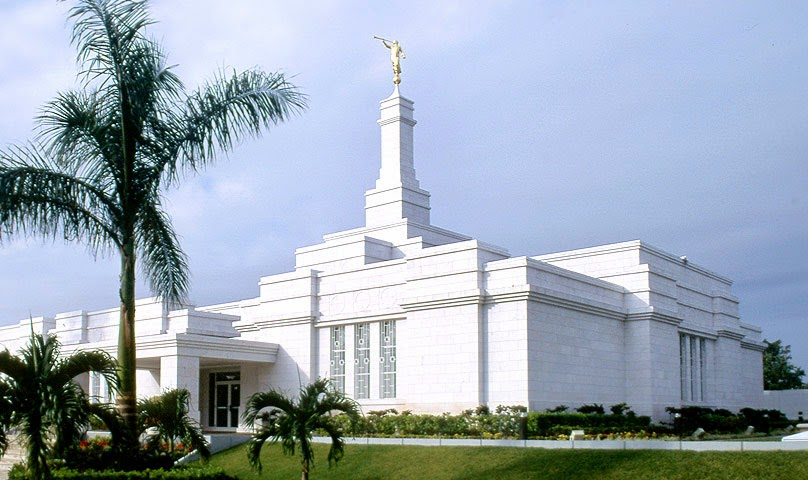 The Temple in Merida Mexico