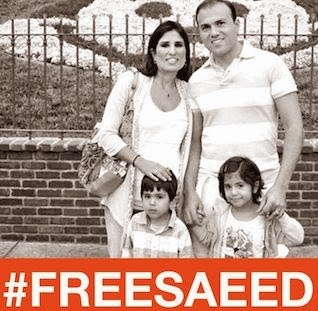 Iran #FreeSaeed Now!