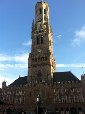 Campanario de los Hallen, dónde puedes disfrutar de maravillosas vistas de Brujas.