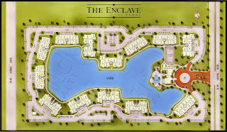 enclave at doral map