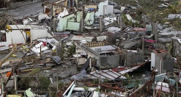 Devastation in Tacloban Leyte Typhoon Yolanda