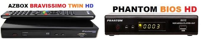 ATUALIZAÇÃO TRANSFORMAÇÃO AZBOX BRAVISSIMOTWIN HD EM PHANTOAM BIOS HD KEYS 30W - 27.05.2015