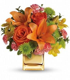 Send the Teleflora Tropical Punch Bouquet
