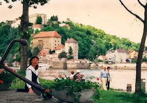 1994年搬家,来到美丽的三条河大学城Passau。(点击图片)