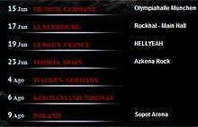 Dias conciertos Ozzy Osbourne y Gregg Allman en el Azkena Rock de Vitoria