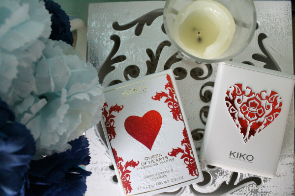 Kiko Queen of Hearts Eyeshadow Palette 01 Essential Brown