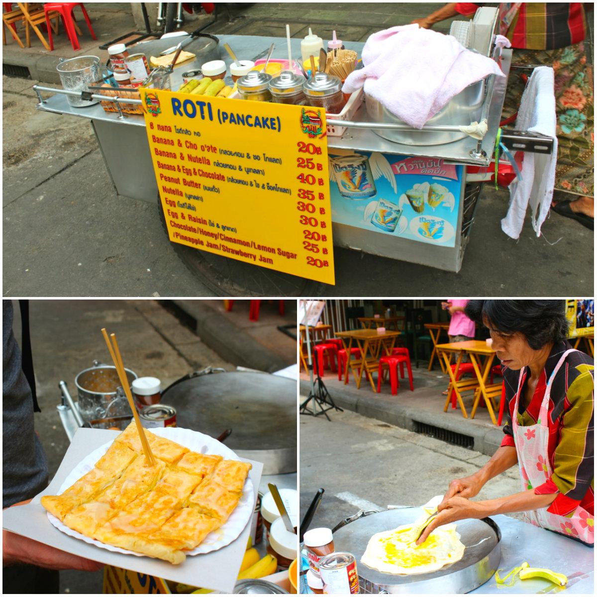 roti pancake thailand