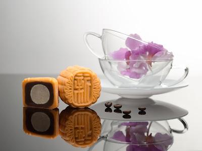 咖啡莲蓉朗姆酒葡萄巧克力月饼
