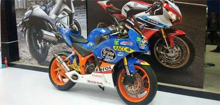 modifikasi Honda CBR150R El Diablo