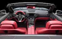 Mercedes-Benz SL dash